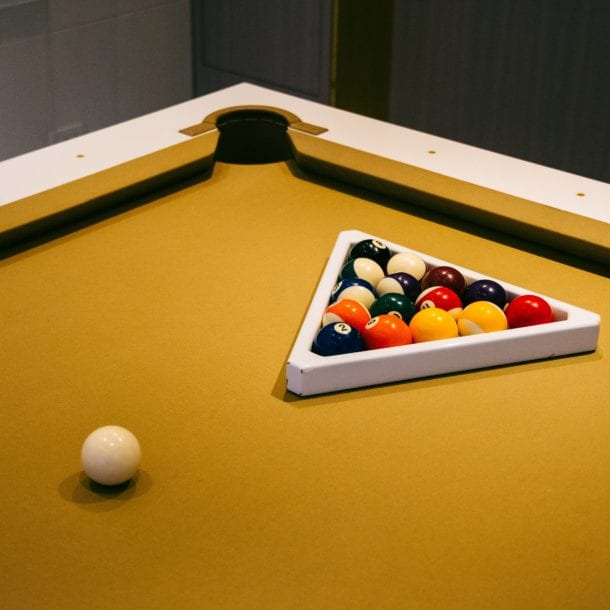 How to move a pool table Simple Moves